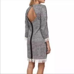 NWT! Sam Edelman Tweed/Fringe Dress!
